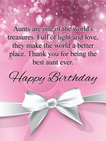 Aunts Are Treasures