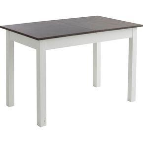 Alinea Yvon Table De Repas Extensible Effet Beton L120 A 160cm 4 A 8 Convives Alinea Decoration Deco Table Salle A Manger Table Extensible Table Repas