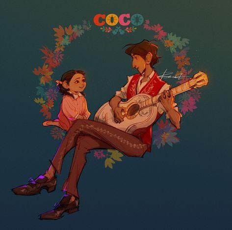 Coco fanart, Rena Gu