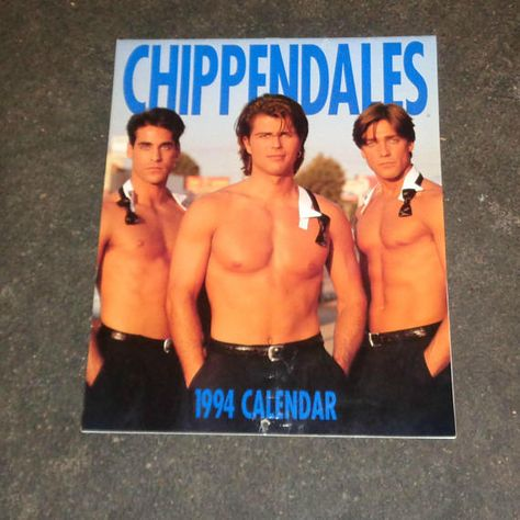 Very Rare The Chippendales Official 1994 Calendar Chippendales