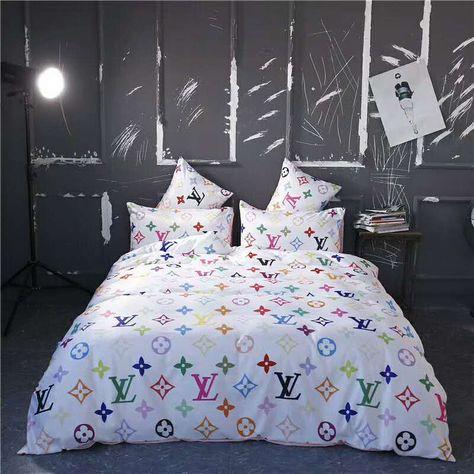 ルイヴィトン 寝具 Louis Vuitton 2020春夏新作 洋式 布団カバー ベッドシート 枕カバー 4点セット Lv200311p12 2 2020 布団カバー 寝具 洋式