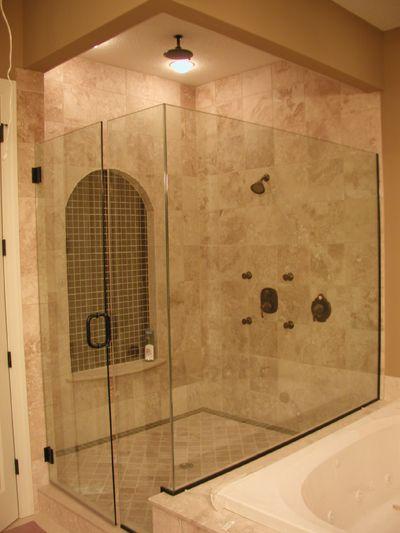 35 Best Shower Doors Images On Pinterest Bathroom Glass Showers