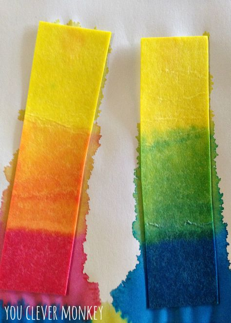 colour mixing activities