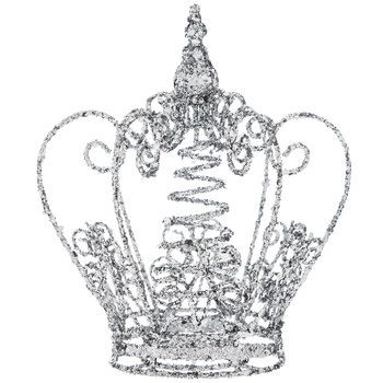 Silver Crown Tree Topper Products In 2019 Christmas Tree