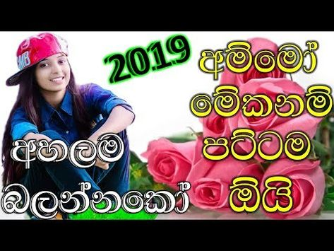 Sinhala New Songs 2019 Dj Nonstop Best Song Collection Youtube News Songs New Song Download Best Songs