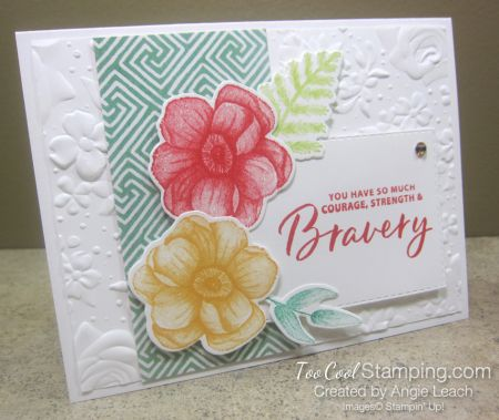Painted Seasons Bravery Rectangle 1 Stampin Up Cards Card Maker Stampin Up