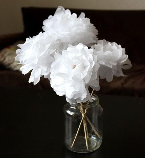 Tuto : fabriquer des fleurs en papier - M6