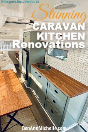 Caravan Kitchen Renovations Caravan Renovation Series Kitchen Renovation Caravan Renovation Small Kitchen Sink
