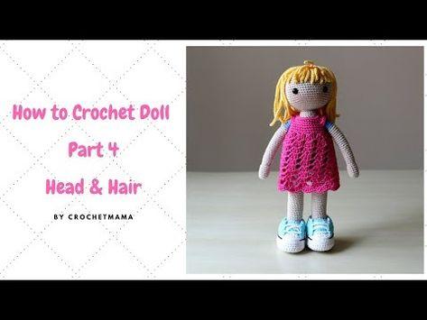 Crochet Amigurumi Orange Doll - Part 4: Dress - YouTube   355x473