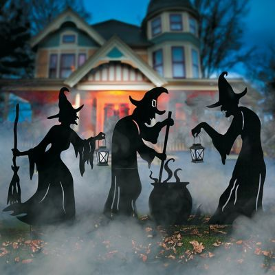 Add Dramatic Halloween Charm To Your Yard Or Porch With This