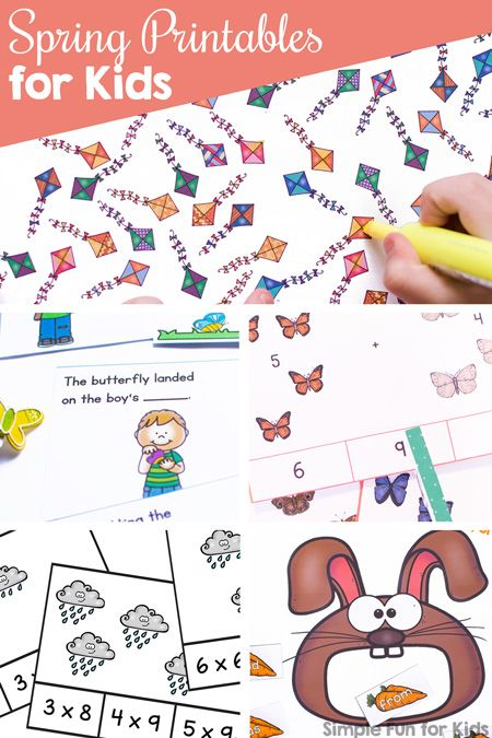 Pin On Hands On Learning And Play Fun activities for kindergarten