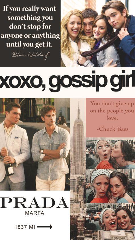 Gossip girl collage