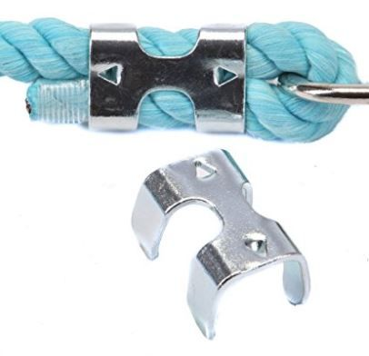 Metal Rope Clamp Rope Clamp Zinc Plating Clamps