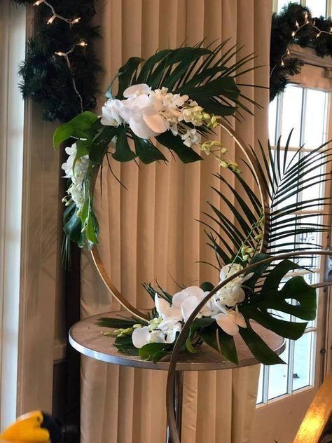 Wedding Arch-24 Round Metal Arch Wedding Decor-Round | Etsy