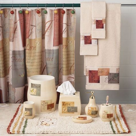 I Have This One Love It I Has Bible Quotes Tranquility Bath Collection 10 00 Fabric Shower Curtains Bath Rugs Curtains