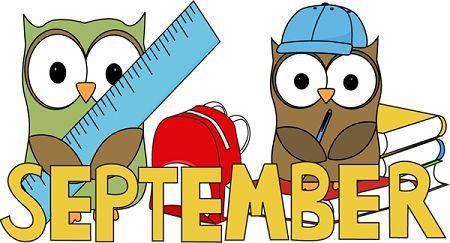 Hello September Clipart Tumblr | September images, September themes, Clip  art