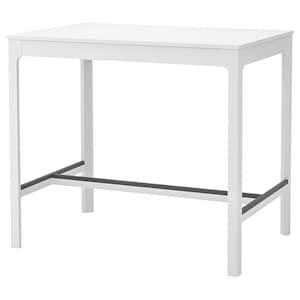 Ekedalen Bar Table White Ikea Table De Bar Blanche Bar Ikea Table Bar