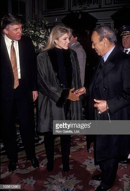"Résultat de recherche d'images pour ""Donald Trump during a Reception for The King Hassan II - January 28, 1992"""