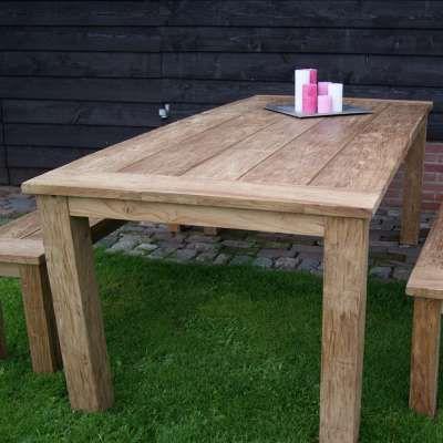 Esstisch Dengkleh 240 X 100 Cm Teakholz Massiv Holztisch Tisch Teak Holz Holztisch Teak