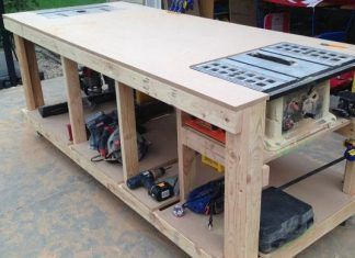 How To Build Your Own Wooden Workbench Planos De Bancada