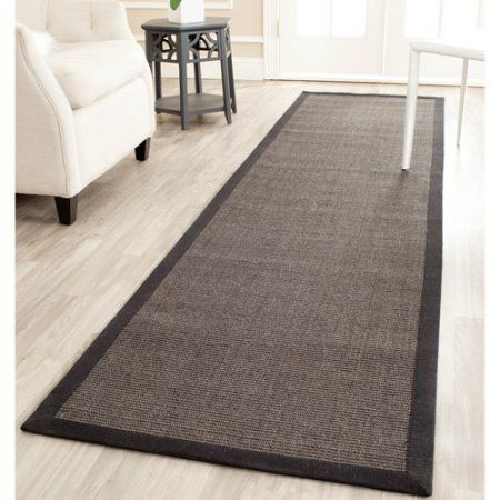 Safavieh Luigi Natural Fiber Runner Rug Gray