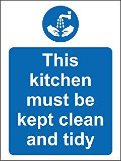 BELONGINGS MUST BE KEPT IN LOCKERS health and safety vinyl sticker 150 x 200mm