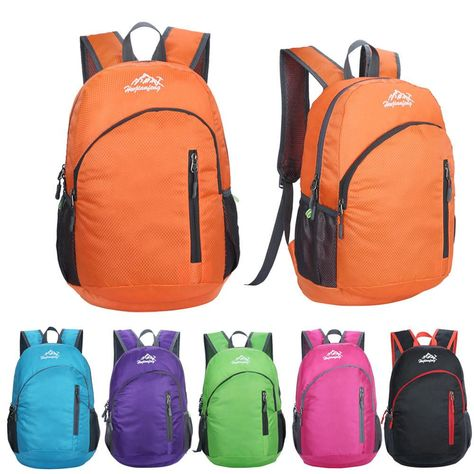 Backpack Daypack Portable Waterproof Folding Packable Lightweight Outdoor Travel