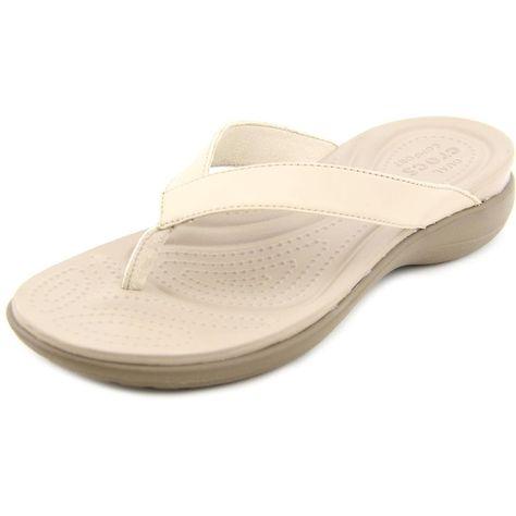 cec110db4ceb Crocs Women s  Capri V Flip  Sandals