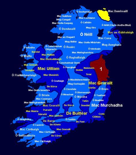 Clans Of Ireland Irish Gaelic