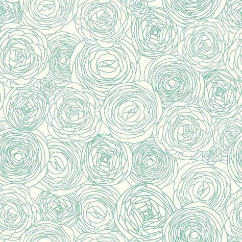 Maisy Roses Removable Peel And Stick Wallpaper Panel In 2020 Mint Green Wallpaper Peel And Stick Wallpaper Wallpaper Panels