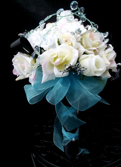 Bouquet Sposa Tiffany.Bouquet Tiffany 9 Bouquet Da Sposa Blu Bouquet Matrimonio E
