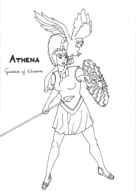 Simple Athena Drawing Google Search Athena Goddess