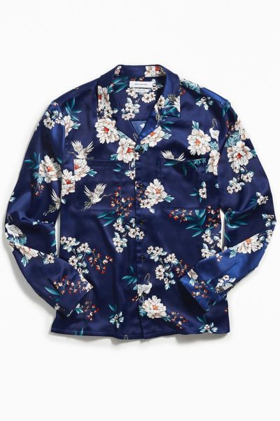 C.Zhaxidele Mens Button Down Shirt Long Sleeve Casual Oversized Blouse Tops
