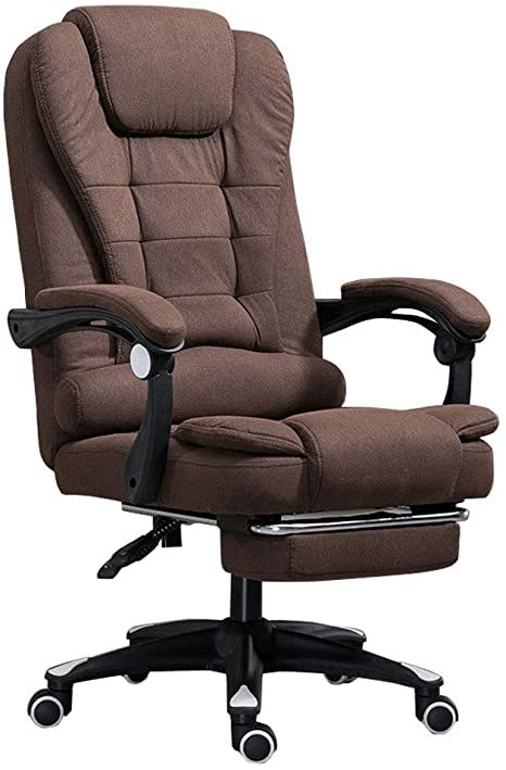 Ergonomic Office Desk Chair With Armrest And Footrest High Back Big And Tall Swivel Task Chairs Adjustable Angle Recline L Chair Office Desk Chair Task Chair Office chairs for big and tall
