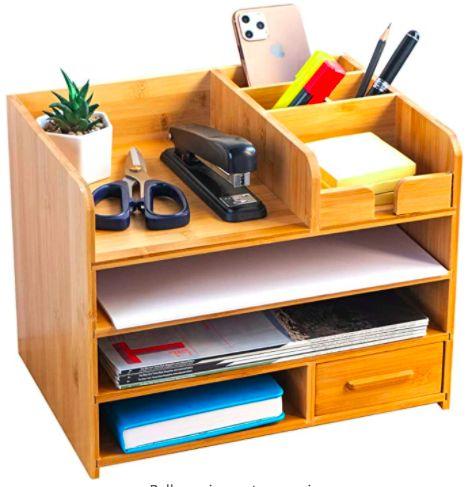 Office Supply Organization, Desktop Organization, Office Storage, Organizing Ideas, Storage Organization, Cute Room Decor, Room Ideas Bedroom, Bedroom Decor, Furniture