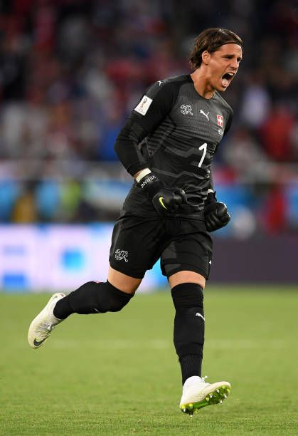 Yann Sommer Of Switzerland Celebrates His Team S First Goal During The 2018 Fifa World Cup Russia Group E Match Between Serbia Celebrities Teams Fifa World Cup