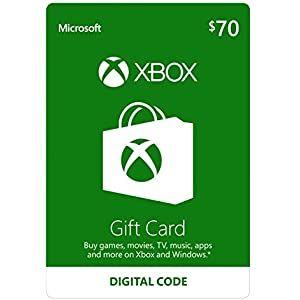 Amazon Com Xbox One Xbox Gift Card Xbox Live Gift Card Xbox Gifts
