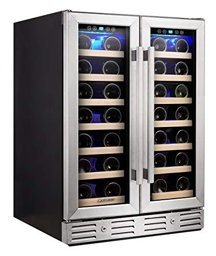 Kalamera Wine Cooler Fit Perfectly Into 24 Inch Space U Https Www Amazon Com Dp B01n0n Best Wine Coolers Built In Wine Cooler Built In Wine Refrigerator