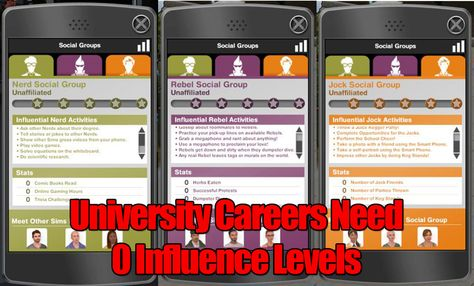 Want the University Careers without having to work your way