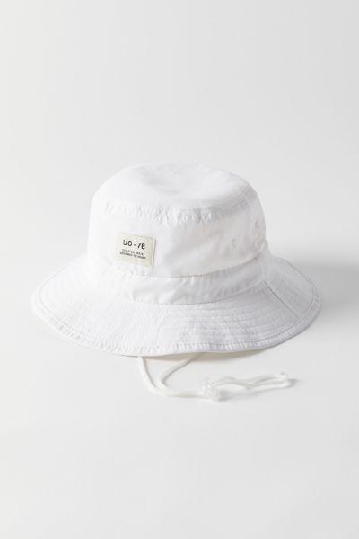 Uo Safari Drawstring Bucket Hat In 2021 Bucket Hat Hats Safari Hat