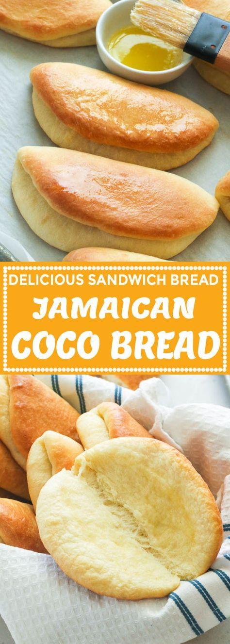 Coco Bread - Immaculate Bites Coco Bread - Immaculate Bites You can find Bread baking and more on our website.Coco Bread - Immaculate B. Jamaican Dishes, Jamaican Recipes, Jamaican Coco Bread Recipe, Delicious Sandwiches, Caribbean Recipes, Caribbean Food, Le Diner, Bread Baking, Baking Recipes