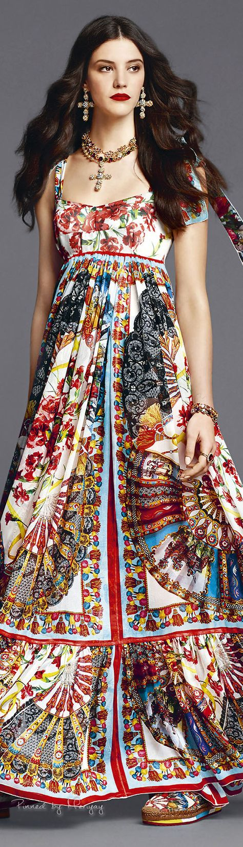 Dolce & Gabbana 2015 | The House of Beccaria~