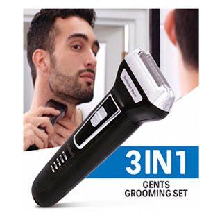 ماكينه الحلاقه 3 في1 الأصلية اورجينال ٣مستويات للشعر تنعيم الدقن كالموس الأنف والأذن تمتع بأدق وأسهل حلا Grooming Personal Care Electric Shaver