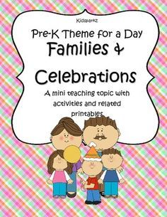 Preschool Family and Home Unit Printables - Yahoo Image Search