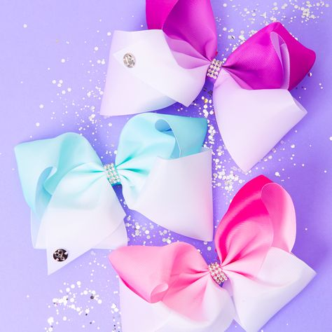 Go to Claire's and check out jojo bow bow