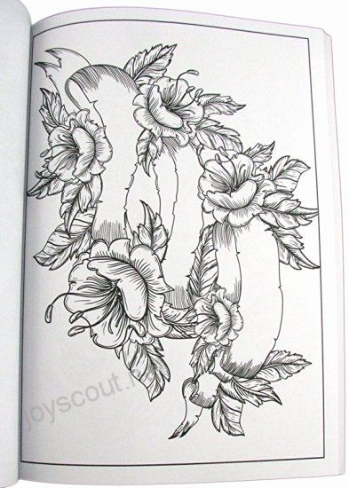 Pin On Best Tattoo Coloring Pages