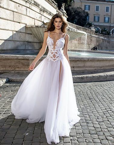 d403ebe4c4a Свадебное платье в стиле бохо Dimitrius Dalia салон ЖениховНет ...