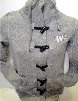 Trendy Jacket with Toggles! $62.95.  Order now & ship today! Call 704-233-8025.