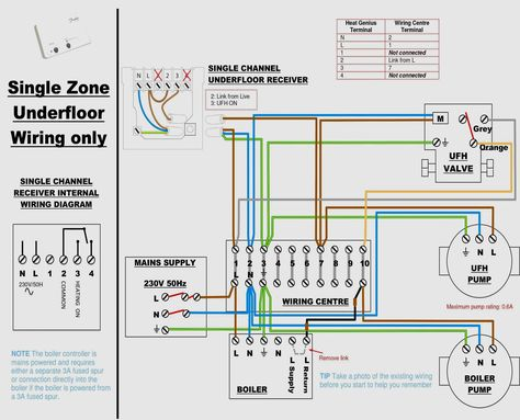 wiring diagram for central heating system s plan diagram