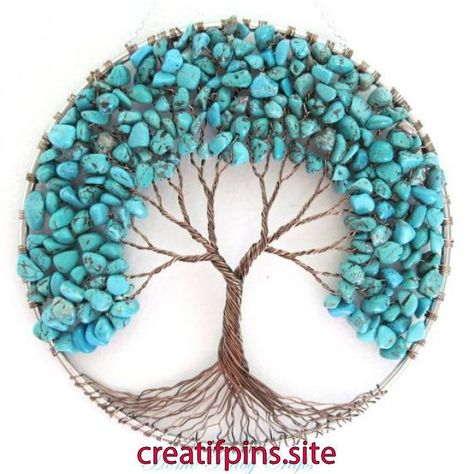 Items similar to Turquoise Friendship Tree of Life Wall Hanging, Sun Catcher, Decor, Peace, Gift for friend on Etsy   Items similar to Turquoise Friendship Tree of Life Wall Hanging, Sun Catcher, Decor, Peace, Gift for friend on Etsy
